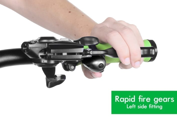 Trigger Bell on flats with rapid fire shifters